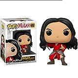 YGZ Las Figuras Mulan Mulan - Pop Figura colección Películas de Disney Decoración Adornos...