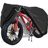 ODSPTER Fahrradabdeckung für 2 fahrräder wasserdichte 210T Oxford-Gewebe 200 x 110 x 90cm(XXL) Fahrrad Schutzhülle Fahrradgarage Fahrradplane Fahrrad Regenschutz Reißfestigkeit Sonnenschutz
