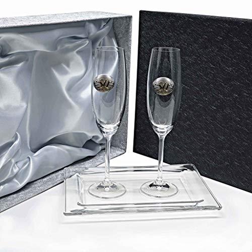 la galaica   La Pack de 2 Copas de Cristal para Champán...