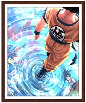 1 Pieces Dragon Ball Anime Posters Picture Super Saiyan Prints on Canvas for Home Decor 8x10 product image