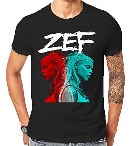 Zef Lifestyle Die Cool No Regrets Antwoord Gift T-Shirt Weihnachten (Large)