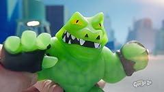 Amazon.com: Heroes of Goo Jit Zu - Gooey Dragon Action ...