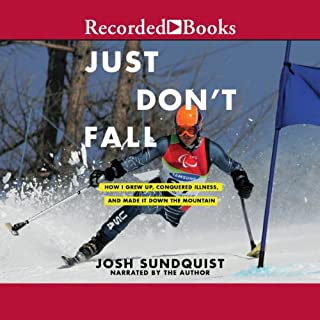 Just Don't Fall audiobook cover art