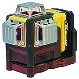Dewalt DCE089D1R-QW Láser autonivelante de 3 lineas de 360º-Incluye batería DW 10