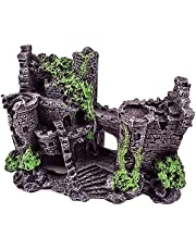 HIRAISM 水槽 オブジェ 城 アクアリウム オーナメント 遺跡 古城 隠れ家 インテリア 置物 飾り