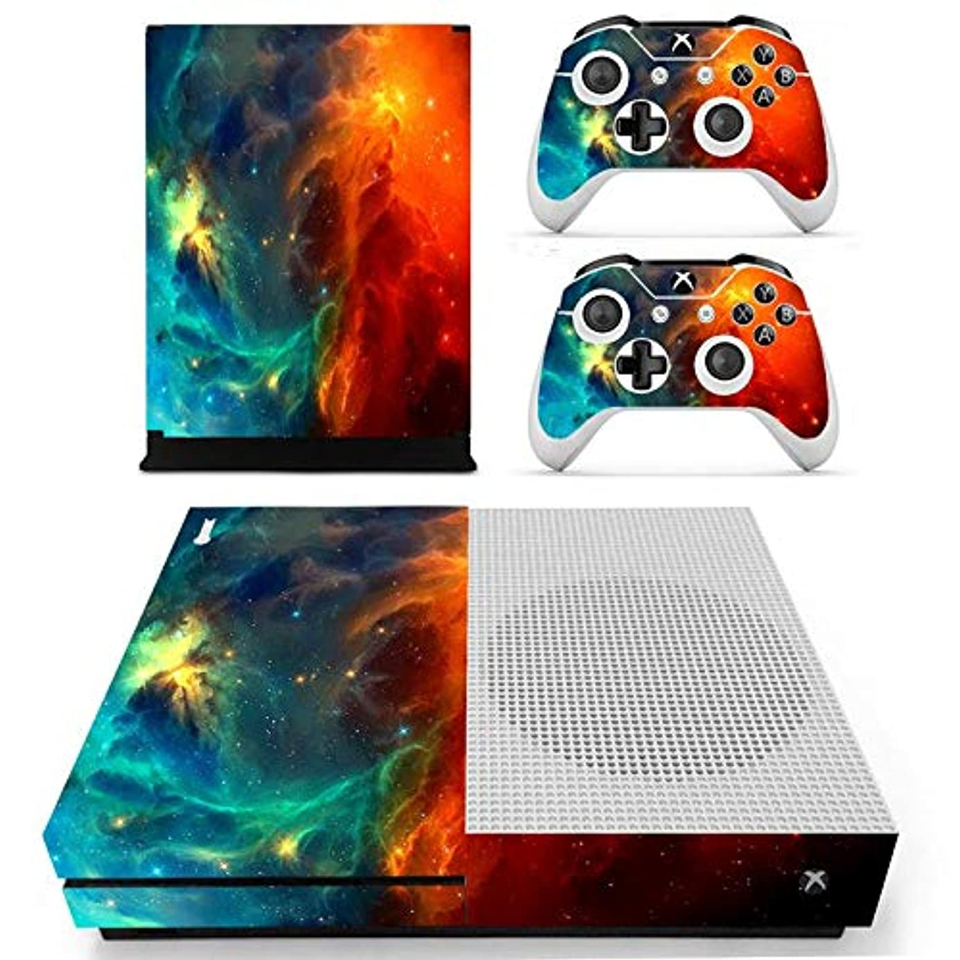 eXtremeRate Full Set Faceplates Skin Stickers for Xbox One S