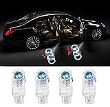 4 Stücke Autotür Logo Projektion Licht Türbeleuchtung Willkommen Licht Einstiegsbeleuchtung