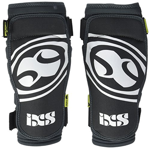 iXS Carve EVO Knee Pad: Gray/Black Kids LG