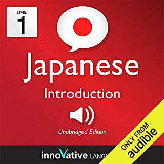 Learn Japanese - Level 1: Introduction to Japanese, Volume 1: Lessons 1-25     Introduction Japanese #1              By:                                                                                                                                 Innovative Language Learning                               Narrated by:                                                                                                                                 JapanesePod101.com                      Length: 4 hrs and 34 mins     44 ratings     Overall 4.3
