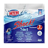 HTH 52028 Ultimate Shock Treatment Swimming Pool Chlorine Cleaner, 1 lb (Pack of 6)