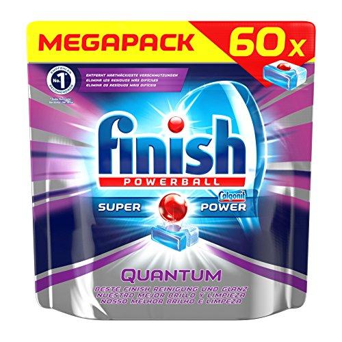 Finish Quantum mit Glanz- und Glasschutz, Spülmaschinentabs, 60 Tabs