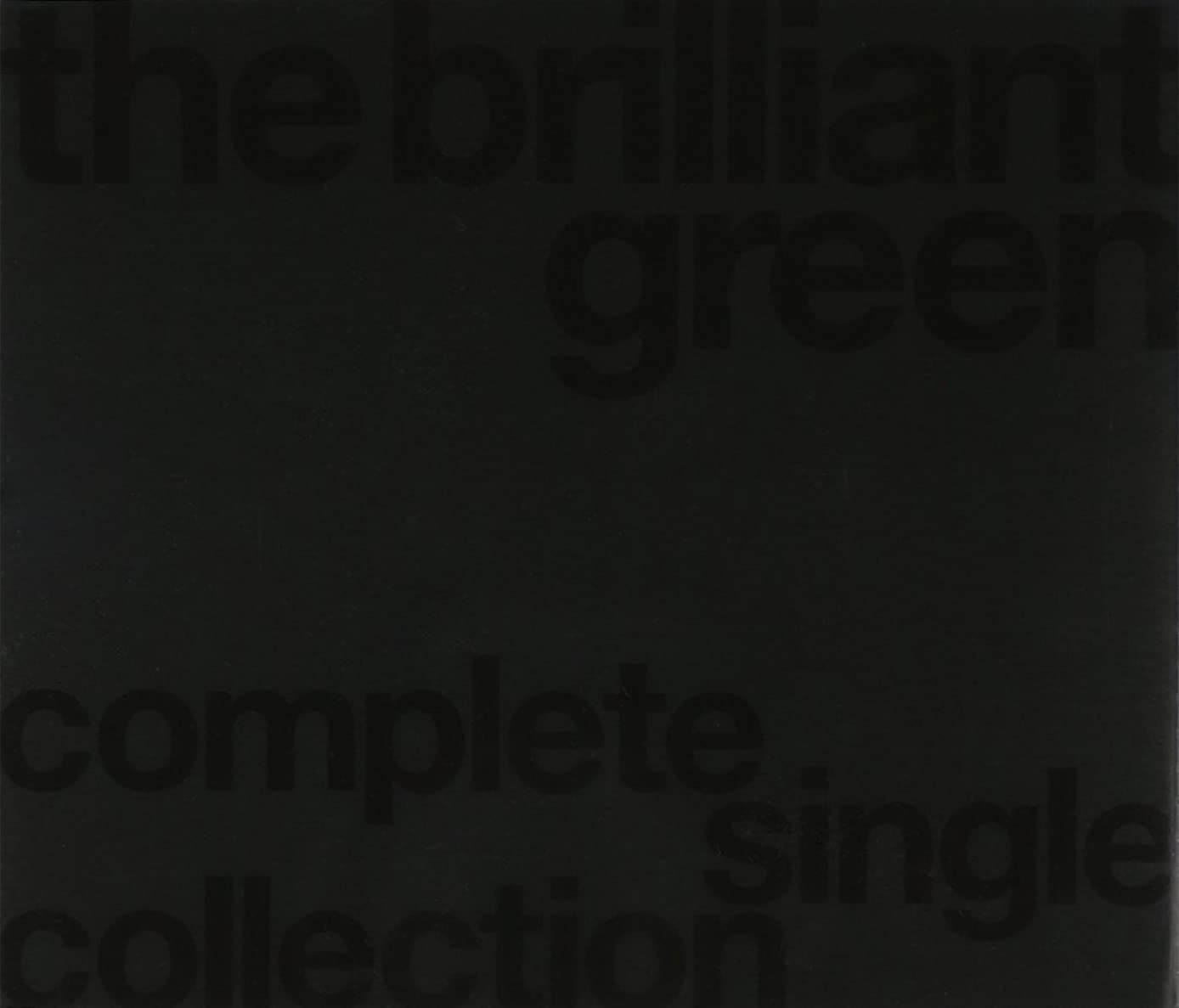 黄ばむフィールド減衰the brilliant green complete single collection'97-'08