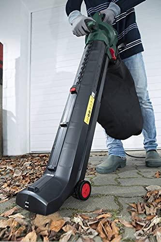 GartenMeister 4 in 1 Elektro Laubsauger, 3000 Watt + Zusatz-Fangsack