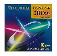 3.5インチ2HDフロッピーディスク10枚パック FUJIFILM MF2HD256 FK10P
