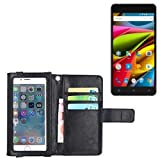 K-S-Trade Wallet Case Flip Cover For Archos 55b Cobalt Lite