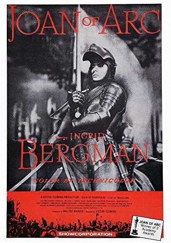 Posterazzi EVCMCDJOOFEC040H Joan of Arc Us Art Ingrid Bergman 1948 Movie Poster Masterprint, 11 x 17 -  Everett Collection