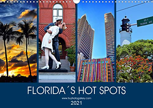 Florida Spots II (Wandkalender 2021 DIN A3 quer)