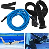 NetEraEU - Cinturón de resistencia para nadar o nadar con banda elástica y duradera, para piscina, jardín
