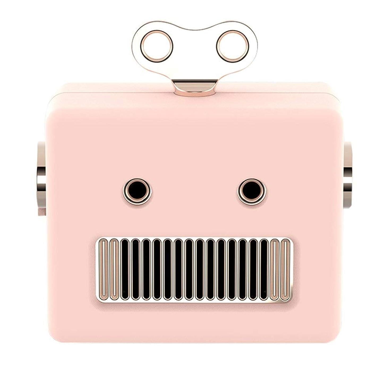 その上院議員作物ALIZJJ 携帯用ブルートゥース4.0のスピーカー、10H再生時間の防水ブルートゥースのスピーカー、ound HDサウンド、ハンズフリー通話屋外クリエイティブかわいいホームアウトドア旅行スピーカー (色 : ピンク)