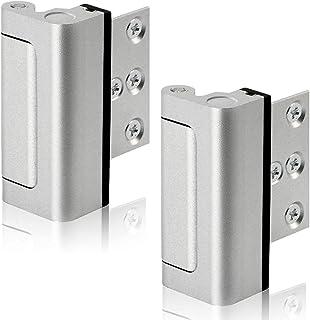 Lifechaser Home Security Door Reinforcement Lock Childproof Door Lock Defender, Add High Security to Home Prevent Unauthor...