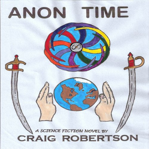 Anon Time audiobook cover art