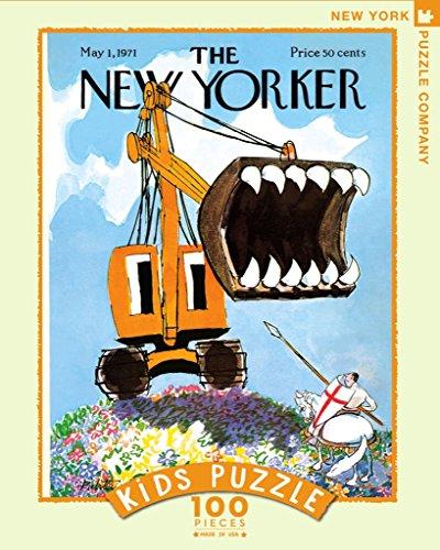 New York Puzzle Company Excavator Slayer Kids Puzzle (100 Pcs)