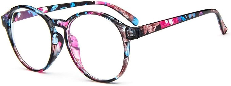 YOYEAH Classic Korean Round Frames Light Glasses