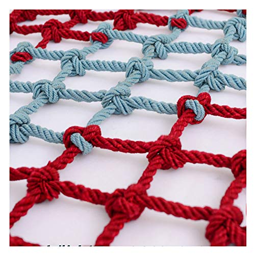 Outdoor Protective Netting, Nylon Climbing Cargo Net, Backyard Playground Netting, Colorful Truck Cargo Netting, Fence Net (Size : 1x3m(3x10ft))