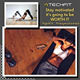 Zoom IMG-2 techfit fitness yoga tappetino 10mm