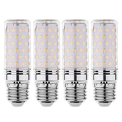 RAYHOO LED Light Bulbs Incandescent 80-100 Watts Equivalent, Standard Medium E26 Base,1000Lumens Non-Dimmable,4 Pack (Warm White 3000K)