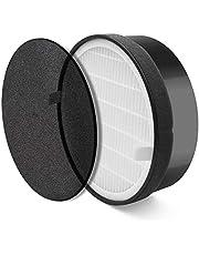 Levoit LV-H132-RF Filtro Original de Reemplazo de Purificador de Aire con Filtro HEPA Compacto y Carbono Activo, 3 Etapas de Filtración, para Alérgenos, Humo, Tabaco, Olor, Caspas de Mascota, 1 Pack