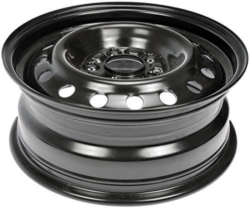 "Dorman 939-265 Steel Wheel for Select Honda Models (15x6""/5x114.3mm), Black"