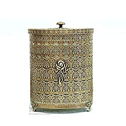 SEHAMANO Rose Patterned Antique Wastebasket Review