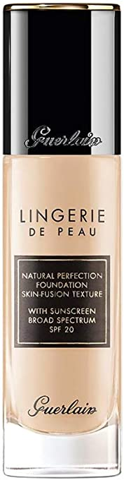 Guerlain Lingerie de Peau Natural Perfection Foundation SPF 20 - # 04C Medium Cool by Guerlain for Women - 1 oz Foundation, 30 ml