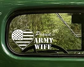 army wife car decal