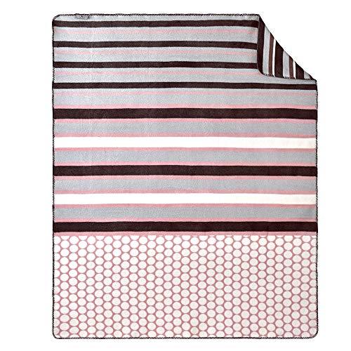 sei Design Plaid Kassandra | Kuscheldecke | Wohndecke | Flauschig weich – hochwertige Verarbeitung, 150 x 200 cm