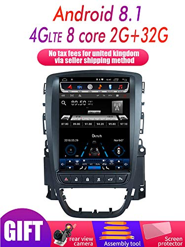 2G RAM Android 9.0 System Vertical Screen Car GPS Multimedia Video Radio Player for Opel Astra J Car Browning Stereo