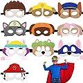 Paw Dog Patrol Toys,Máscaras de Fieltro,Dog patrol,Cuerda Elástica Máscaras,Máscara de perro,Mascarilla Animal,Animal Masks,Máscaras para Niños,Máscaras de Fiesta,Máscaras de Cosplay de a ray of sunshine