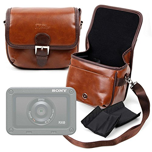 DURAGADGET Borsa Vintage per Action Camera GULAKI G300702 | Volador | Kaiser Baas X100 | MGCOOL Explorer 3 | HAMSWAN F68 | SENDOW 4K HD | Xiaomi MADV 360° / MiJia 360° | Apeman V-2