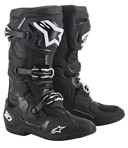 Alpinestars Crosslaarzen Tech 10 Black-40.5 (EU)