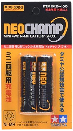 タミヤ グレードアップパーツシリーズ No.420 GP.420 ニッケル水素電池 ネオチャンプ (2本)