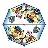 CERDÁ LIFE'S LITTLE MOMENTS- Paraguas Burbuja Manual de Paw Patrol - Licencia Oficial Nickelodeon, Color Azul (2400000611)