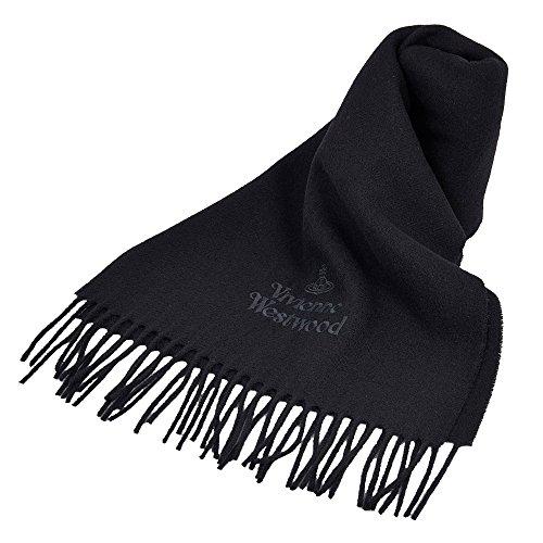 ヴィヴィアンウエストウッド マフラー スカーフ ストール オーブ ブラック BLACK 黒 [並行輸入品]