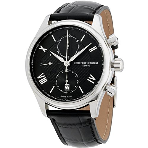 FREDERIQUE CONSTANT MEN'S RUNABOUT LEATHER BAND AUTOMATIC WATCH FC-392MDG5B6