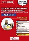 Concours Technicien territorial - Technicien principal - Catégorie B - Tout-en-un - Externe, interne, 3e voie, examens professionnels 2021-2022 (2021)