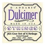D'Addario J64 Jeu de Cordes Dulcimer...