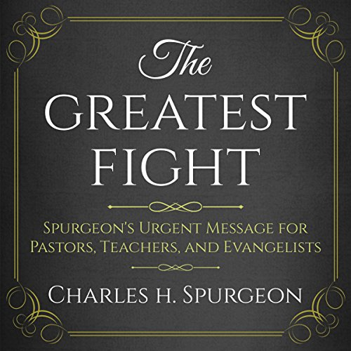 The Greatest Fight audiobook cover art