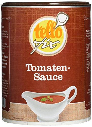 tellofix Tomaten-Sauce, 1er Pack (1 x 500 g Packung)