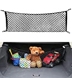 AUTOAC Cargo Net for SUV - Car Trunk Net Stretchable Truck Bed Cargo Net Trunk Organizer for Car