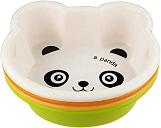 Hommp Small Basins, for Children with Cute Cartoon Animals, Set of 4